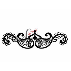 Трафареты для временных бикини тату